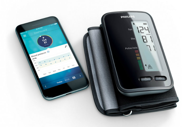 philips arm blood pressure monitor